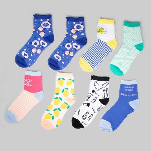 8pk Women's Socks - Bullseye's Playground™ - image 1 of 1
