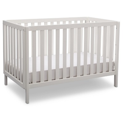 Delta Children Milo 3-in-1 Convertible Crib - Bianca White