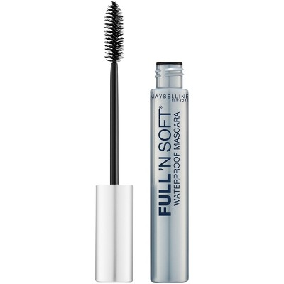 Mascara & Lashes: Maybelline Full 'N Soft Waterproof
