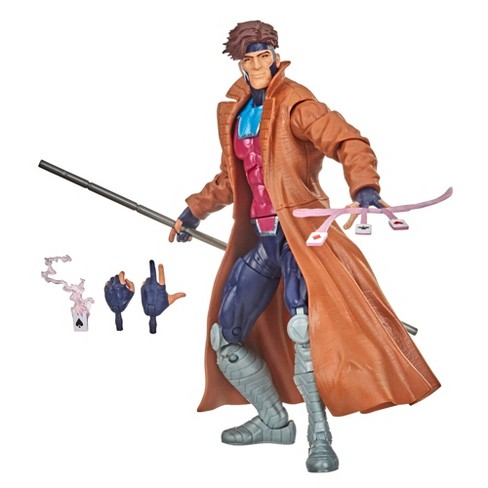 "Hasbro Marvel Legends 6"" Retro Collection X-Men Gambit Figure - image 1 of 3"