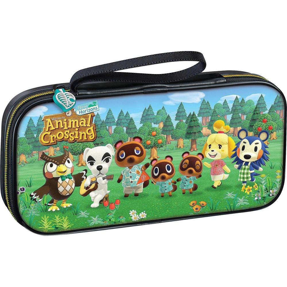 Nintendo Switch Game Traveler Deluxe Travel Case Animal Crossing New Horizon
