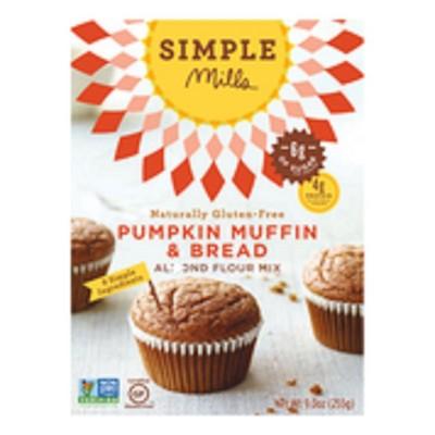 Baking Mixes: Simple Mills Pumpkin Muffin & Bread Almond Flour Mix