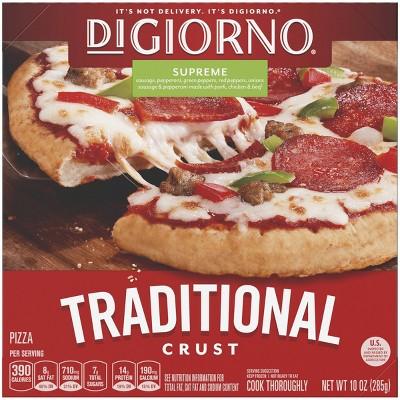 DiGiorno Traditional Crust Supreme Frozen Pizza - 10oz