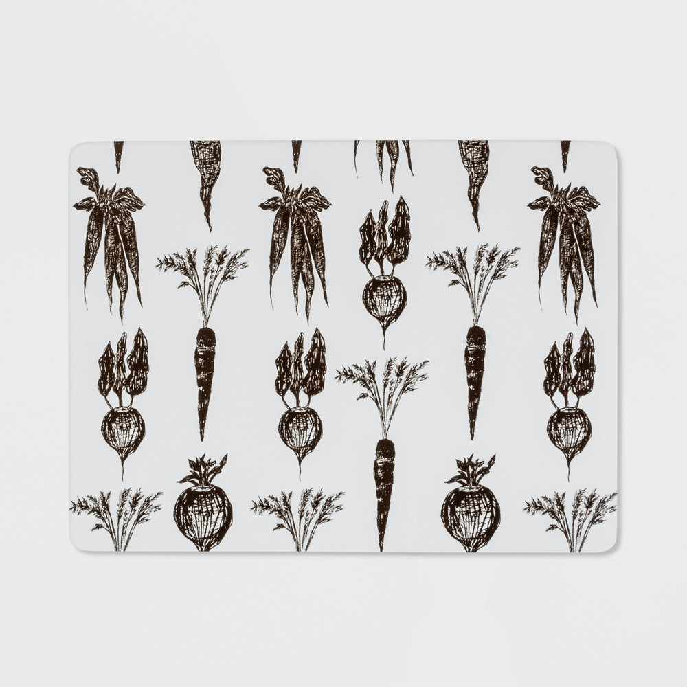 Image of Vegetable Cork Placemat Gray - Threshold