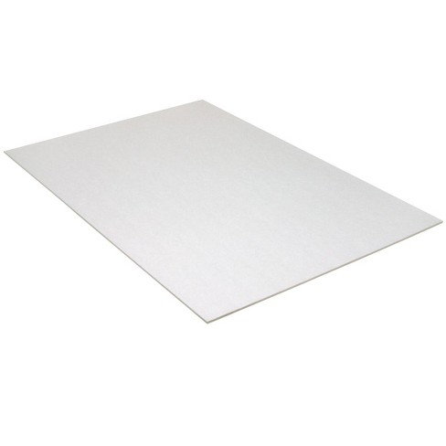 Pacon Acid-Free Foam Board, 20 x 30 Inches, 3/16 Inch Thickness, White, pk of 10 - image 1 of 1