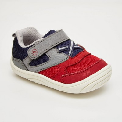 Baby Boys' Surprize by Stride Rite Chase Sneakers - Red 3