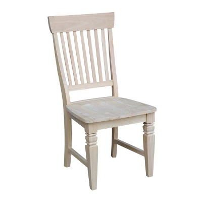 Set Of 2 Tall Java Chair Unfinished - International Concepts : Target