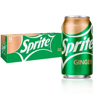 Sprite Ginger - 12pk/12 fl oz Cans