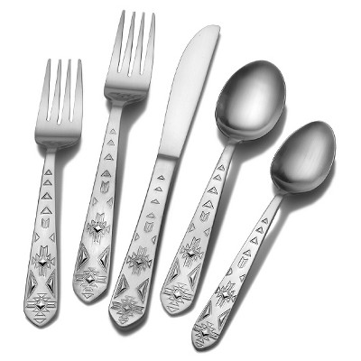 Towle Everyday Pueblo 20-pc. Silverware Set