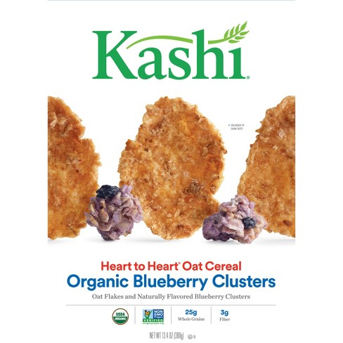 Kashi Heart To Heart Wild Blueberry Clusters Breakfast Cereal - 13.4oz - image 1 of 6