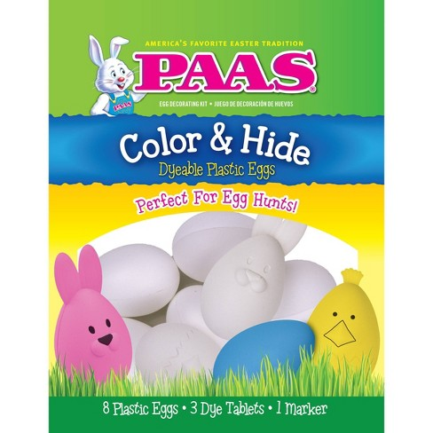 PAAS Easter Color & Hide Dyeable Plastic Eggs Kit - image 1 of 1