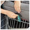 Brica GoShop Shopping Cart Cover Gray - image 3 of 4