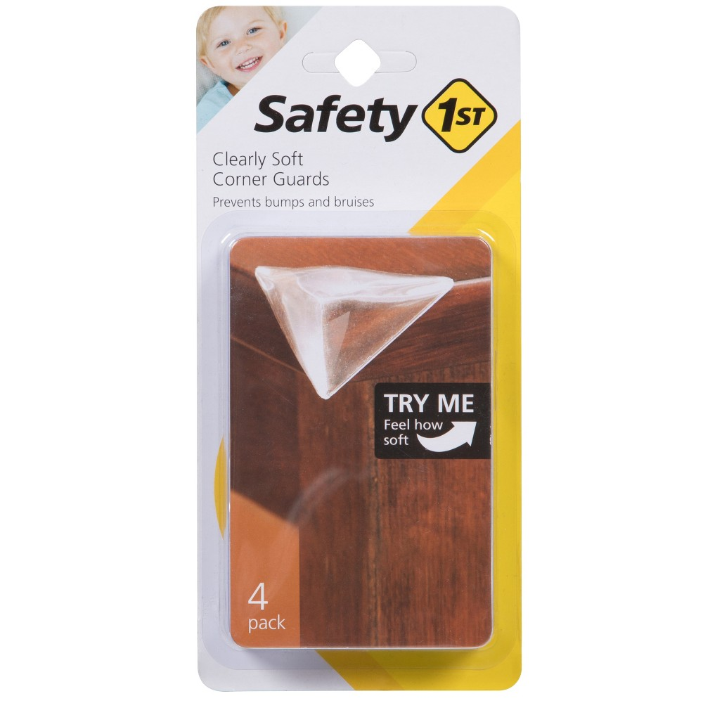 Image of Safety 1st Clearly Soft Corner Guards - 4pk