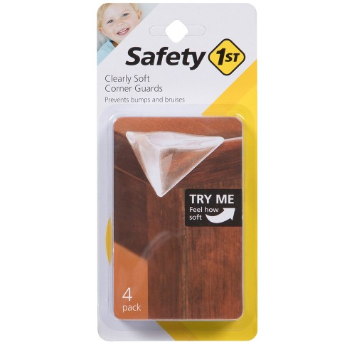 Safety 1st Clearly Soft Corner Guards - 4pk - image 1 of 4