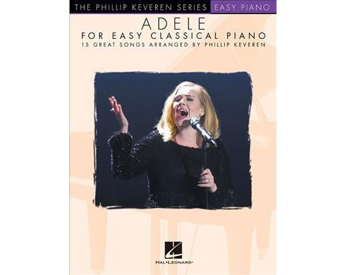 Adele for Easy Classical Piano (Paperback) - image 1 of 1