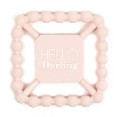 Tunno Tots Hello Darling Silicone Teether