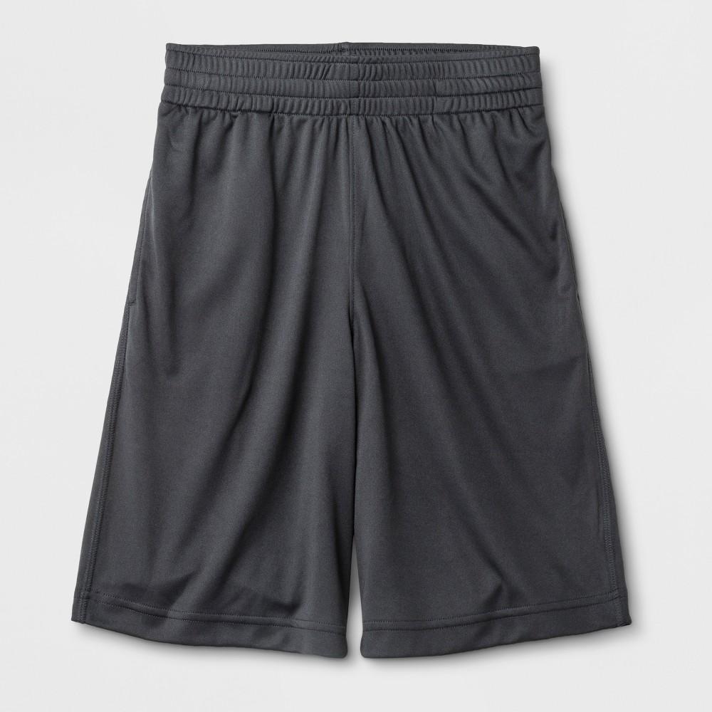 Image of Boys' Active Shorts - Cat & Jack Gray L, Boy's, Size: Large