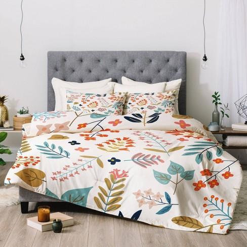 83 Oranges Botanical Harmony Comforter Set - Deny Designs - image 1 of 4