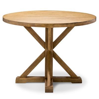 Harvester 42  Round Dining Table - Acorn - Beekman 1802 FarmHouse