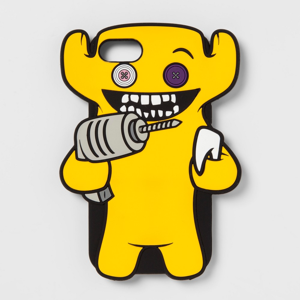 Fuggler Rubber Phone Case - Yellow