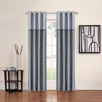 Arno Thermalayer Blackout Curtain Panel Gray - Eclipse