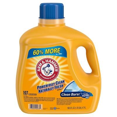 Laundry Detergent: Arm & Hammer