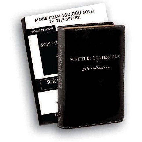 Scripture Confessions Gift Collection - (Leather_bound) - image 1 of 1