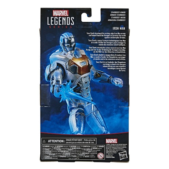Hasbro Marvel Legends Series Gamerverse Starboost Armor Iron Man image number null