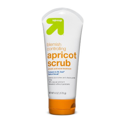 Facial Cleanser: up & up Blemish Controlling Scrub