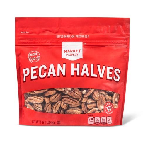 Pecan Halves - 16oz - Market Pantry™ - image 1 of 1