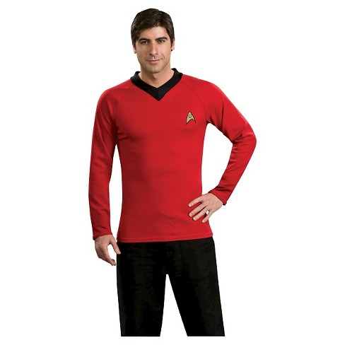 Men's Star Trek Classic Shirt Costume Red - image 1 of 1