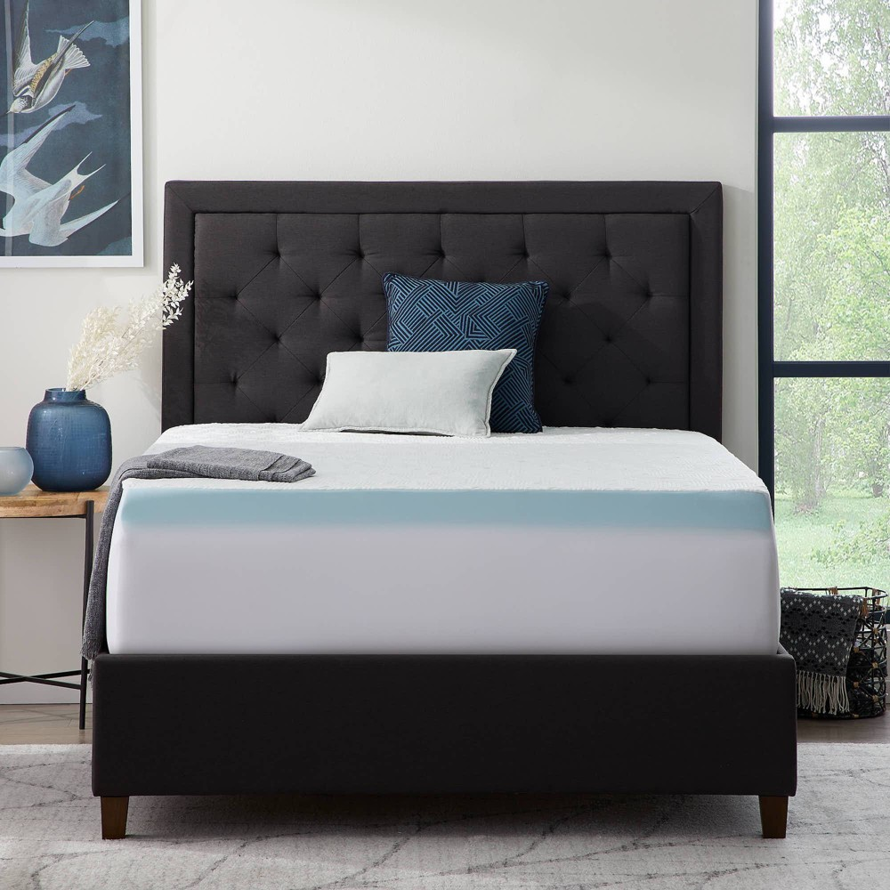 California King Comfort Collection Fitted Mattress And Topper Cover Lucid