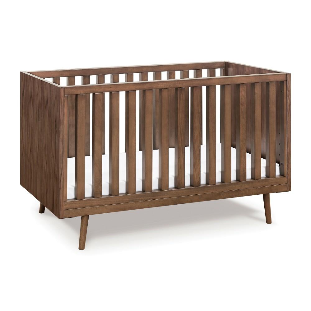 Ubabub Nifty Timber 3-in-1 Convertible Crib - Walnut