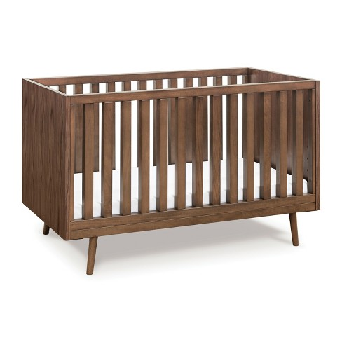 Ubabub Nifty Timber 3-in-1 Convertible Crib - Walnut - image 1 of 4