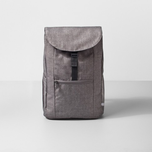 """Backpack 17"""" Heather Gray - Made By Design™ - image 1 of 4"""