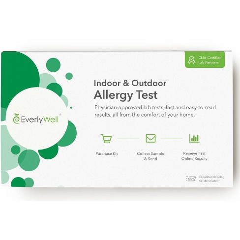 EverlyWell Indoor/Outdoor Allergy Test - Lab Fee Included - image 1 of 3