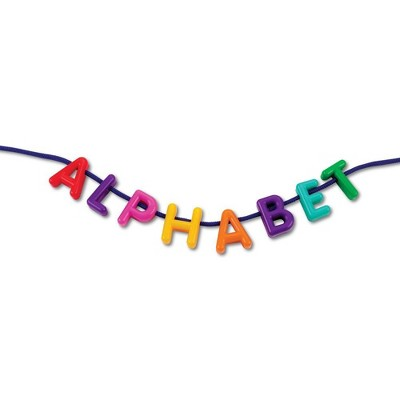 Learning Resources Uppercase Lacing Alphabet, Set of 260