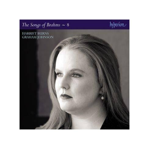 Harriet Burns - Brahms: Complete Songs Vol. 8 (CD) - image 1 of 1