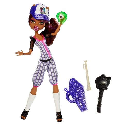 monster high ghoul sports clawdeen wolf doll target