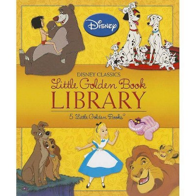 Disney Classics Little Golden Book Library (Disney Classic)- (Hardcover)