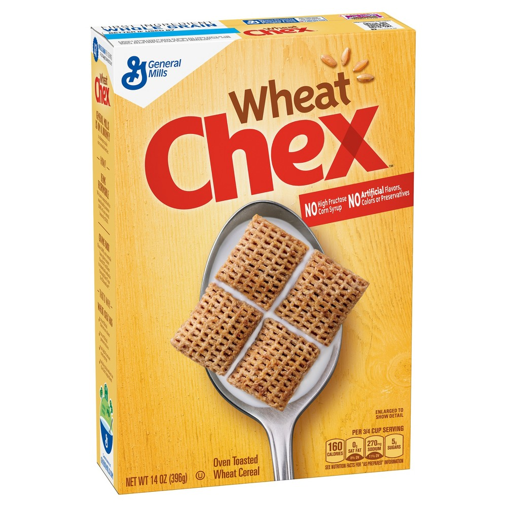 Chex Wheat Breakfast Cereal - 14oz - General Mills
