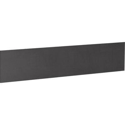 """Lorell Tackboard for 45""""Hutch 45-3/4""""x3/4""""x16-1/2"""" Black 69917"""