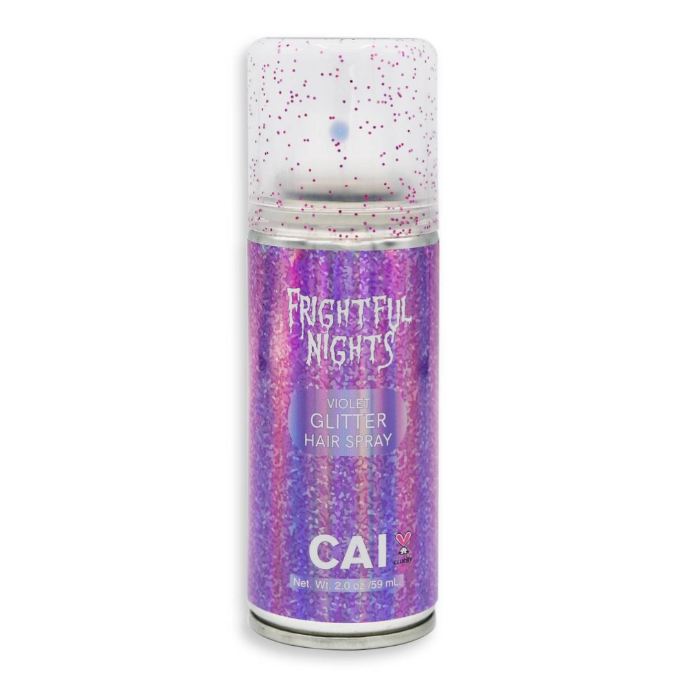 Image of CAI Glitter Hair Spray - Violet