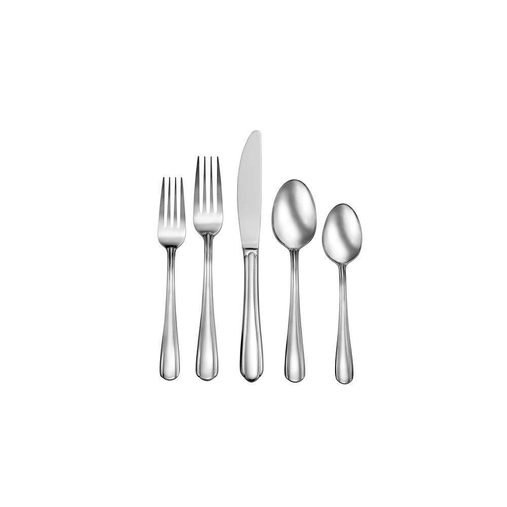 Image of 42pc Stainless Steel Eastlyn Silverware Set - Studio Cuisine