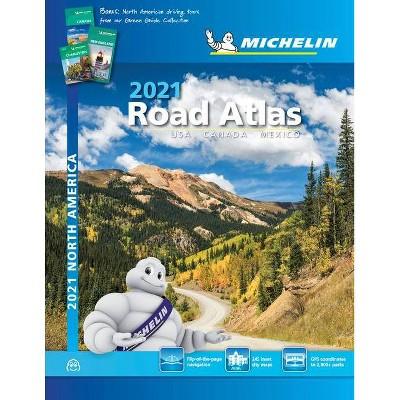 Michelin North America Road Atlas 2021 - 19th Edition (Spiral Bound)