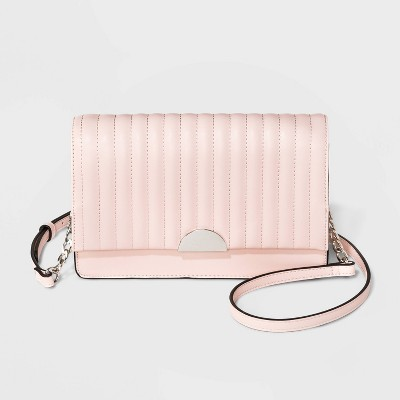 Flap Crossbody Bag - A New Day™ Pink