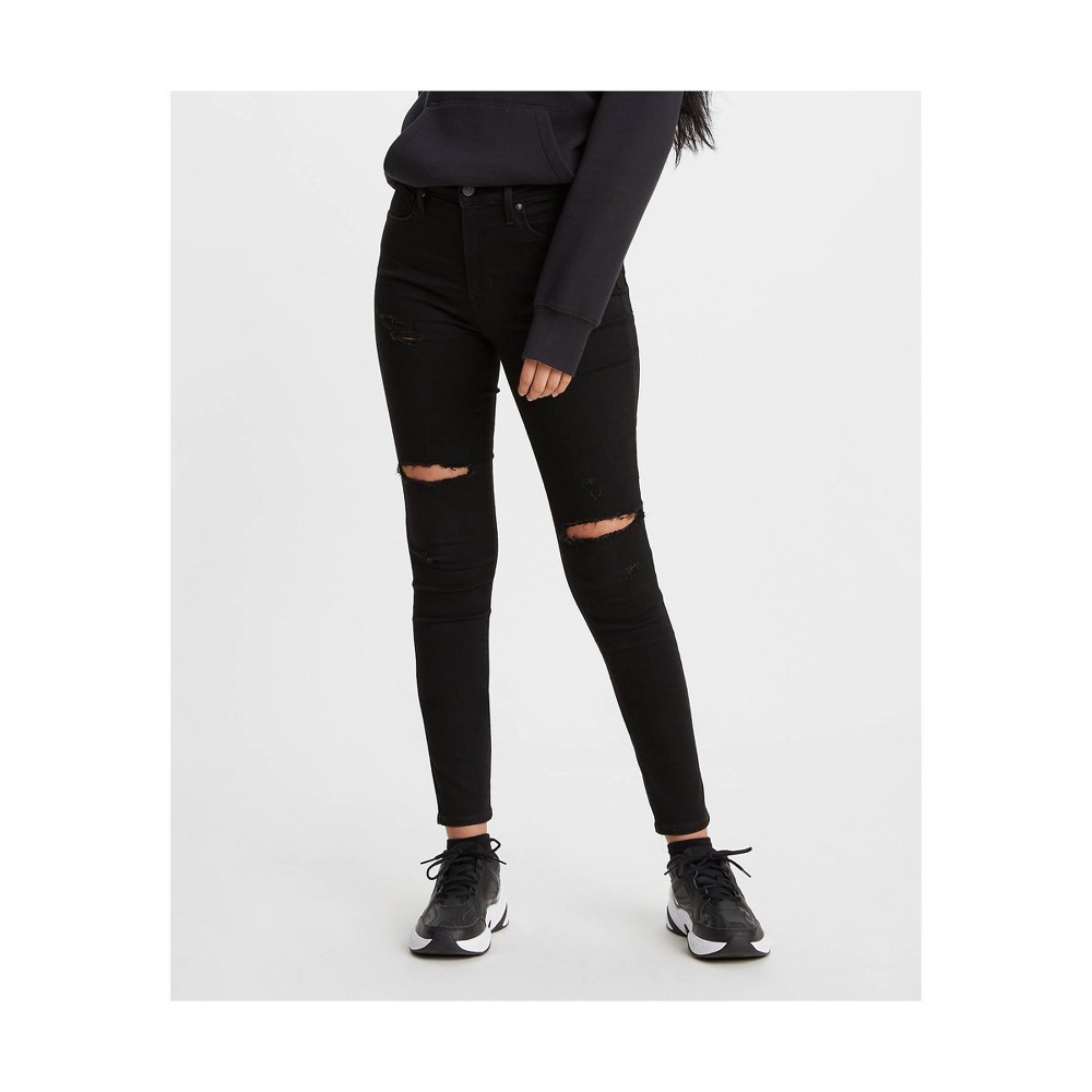 Levi 39 S 174 Women 39 S 720 8482 High Rise Super Skinny Jeans Close To The Edge 31