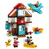 LEGO DUPLO Disney Mickey's Vacation House 10889 Toddler Building Set with Minnie Mouse - image 2 of 4
