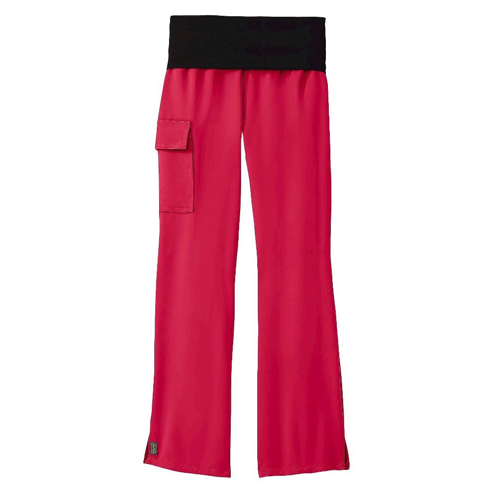 Ocean Ave Yoga Scrub Pants Pink Medium