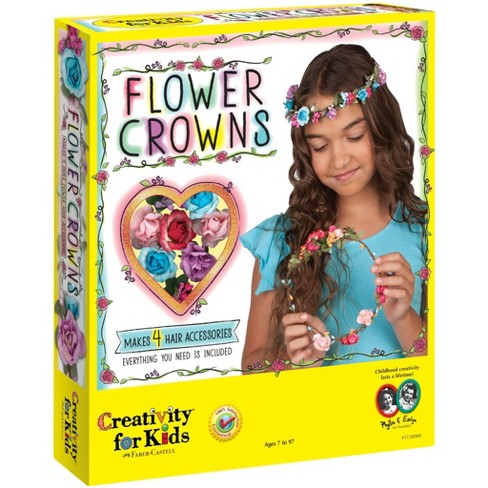 Creativity for Kids Flower Crowns Craft Kit - image 1 of 4